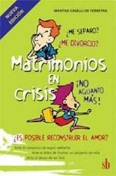 Libro Matrimonios En Crisis