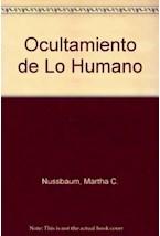 Papel EL OCULTAMIENTO DE LO HUMANO