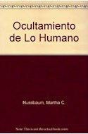 Papel OCULTAMIENTO DE LO HUMANO REPUGNANCIA VERGUENZA Y LEY