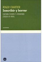 Papel Inscribir Y Borrar
