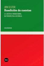 Papel RENDICION DE CUENTAS (LA JUSTICIA TRANSICIONAL EN PERSPECTIV