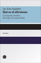 Libro Que Es El Altruismo