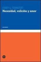 Libro Necesidad  Volicion Y Amor