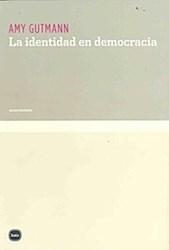 Libro La Identidad En Democracia