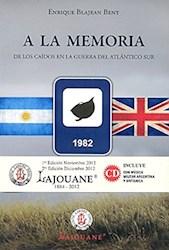 Libro A La Memoria De Los Caidos En La Guerra Del Atlantico Sur
