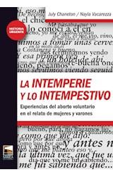 Papel LA INTEMPERIE Y LO INTEMPESTIVO