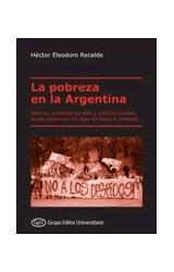 Papel LA POBREZA EN LA ARGENTINA