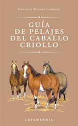 Libro Guia De Pelajes Del Caballo Criollo