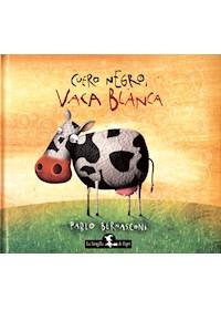 Papel Cuero Negro, Vaca Blanca (T.D.)