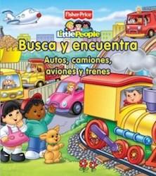 Papel Busca Y Encuentra Autos Camiones Aviones Y Trenes