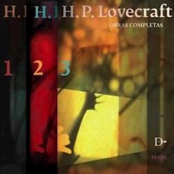 Papel Obras Completas H. P. Lovecraft  3 Tomos