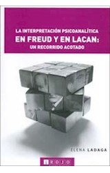 Papel INTERPRETACION PSICOANALITICA EN FREUD Y EN LACAN: UN RECORR