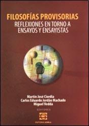 Libro Filosofias Provisorias