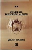 Papel ORIGEN DEL TRAUERSPIEL ALEMAN (COLECCION LATENCIAS) (RUSTICA)