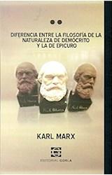 Papel DIFERENCIA ENTRE LA FILOSOFIA DE LA NATURALEZA DE DEMOCRITO