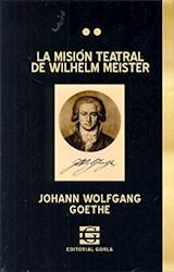 Papel LA MISION TEATRAL DE WILHEL MEISTER