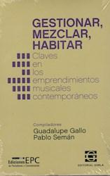 Libro Gestionar , Mezclar , Habitar