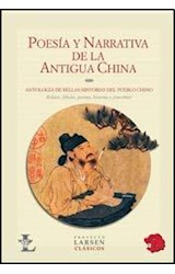 Papel POESIA Y NARRATIVA DE LA ANTIGUA CHINA