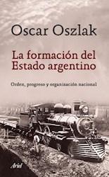 Libro La Formacion Del Estado Argentino