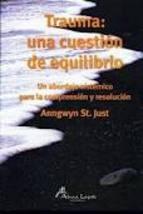 Papel TRAUMA: UNA CUESTION DE EQUILIBRIO