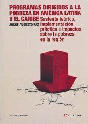 Papel PROGRAMAS DIRIGIDOS A LA POBREZA EN AMERICA LATINA Y EL CARI