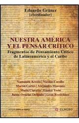 Papel NUESTRA AMERICA Y EL PENSAR CRITICO