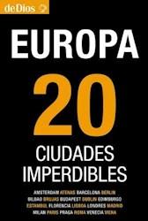 Papel Europa 20 Ciudades Imperdibles