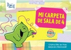 Papel MI CARPETA DE SALA DE 4 HOLA CHICOS (CONTIENE PAPELES E  SPECIALES Y BOLSO DE GUARDADO)