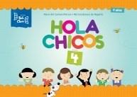 Papel HOLA CHICOS 4 (EDICION 2015) (4 AÑOS) (ANILLADO)