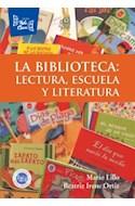 Papel BIBLIOTECA LECTURA ESCUELA Y LITERATURA (RUSTICA)