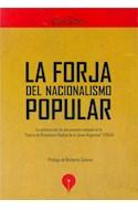 Papel FORJA DEL NACIONALISMO POPULAR (RUSTICO)