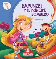Libro Rapunzel Y El Principe Bombero