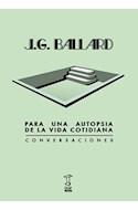 Papel PARA UNA AUTOPSIA DE LA VIDA COTIDIANA CONVERSACIONES