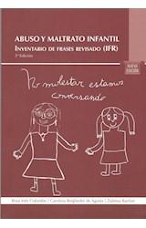 Papel ABUSO Y MALTRATO INFANTIL IFR INVENTARIO DE FRASES REVISADO