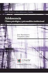 Papel ADOLESCENCIA CLINICA PSICOLOGICA Y PSICOANALITICA INSTITUCIO