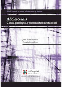 Papel Adolescencia. Clínica Psicológica Y Psicoanalítica Institucional