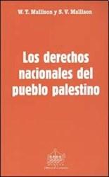 Libro Los Derechos Nacionales Del Pueblo Palestino