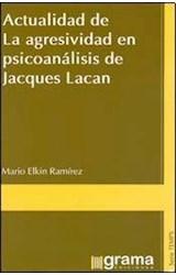 Papel ACTUALIDAD DE LA AGRESIVIDAD EN PSICOANALISIS DE JACQUES LAC