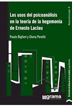 Papel USOS DEL PSICOANALISIS EN LA TEORIA DE LA HEGEMONIA DE ERNES
