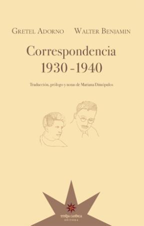 Papel Correspondencia 1930-1940 (Adorno-Benjamin)