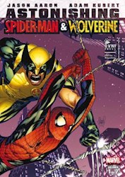 Papel Astonishing Spiderman & Wolverine 1