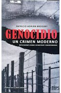 Papel GENOCIDIO UN CRIMEN MODERNO REFLEXIONES SOBRE GENOCIDIO  Y MODERNIDAD (RUSTICO)