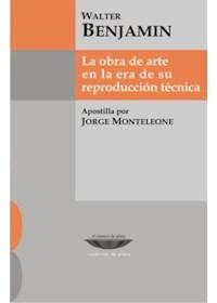 Papel La Obra De Arte En La Era De Su Reproducción Técnica