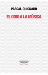 Papel EL ODIO A LA MUSICA