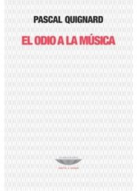Papel El Odio A La Música