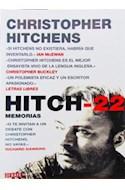 Papel HITCH-22 [MEMORIAS] (COLECCION DEBATE MEMORIAS)