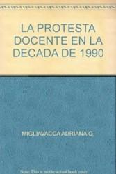 Libro La Protesta Docente En La Decada De 1990