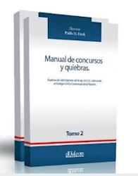 Libro Manual De Concursos Y Quiebras Tomo I