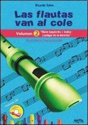 Libro 2. Las Flautas Van Al Cole  Mano Izquierda + Indice Y Pulgar De Derecha