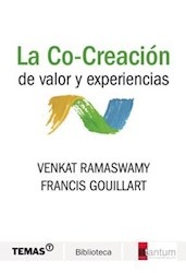 Libro La Co - Creacion De Valor Y Experiencias